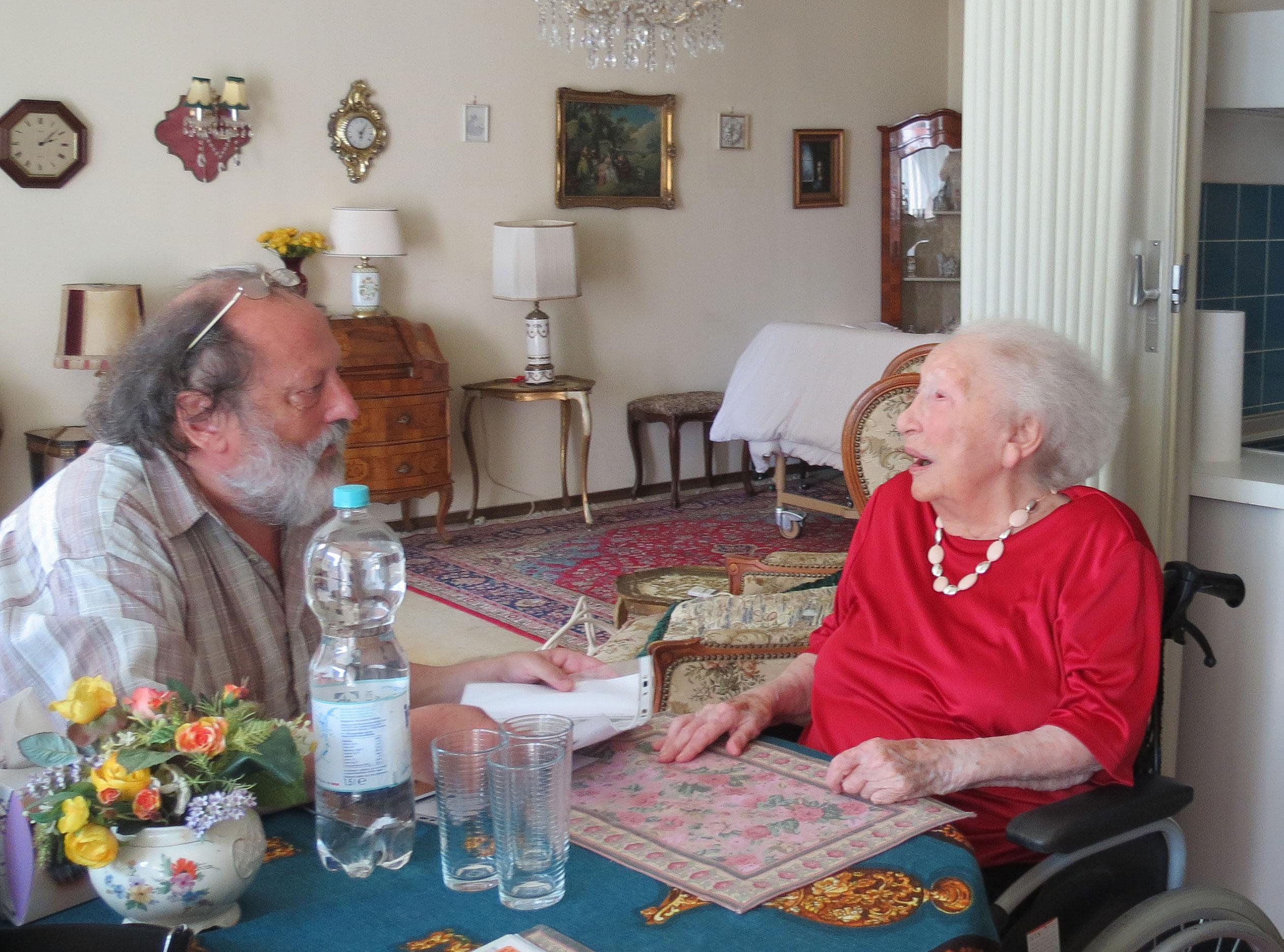 Besuch bei einer alten Dame
