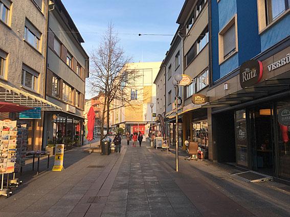 Bruchsal Fußgängerzone